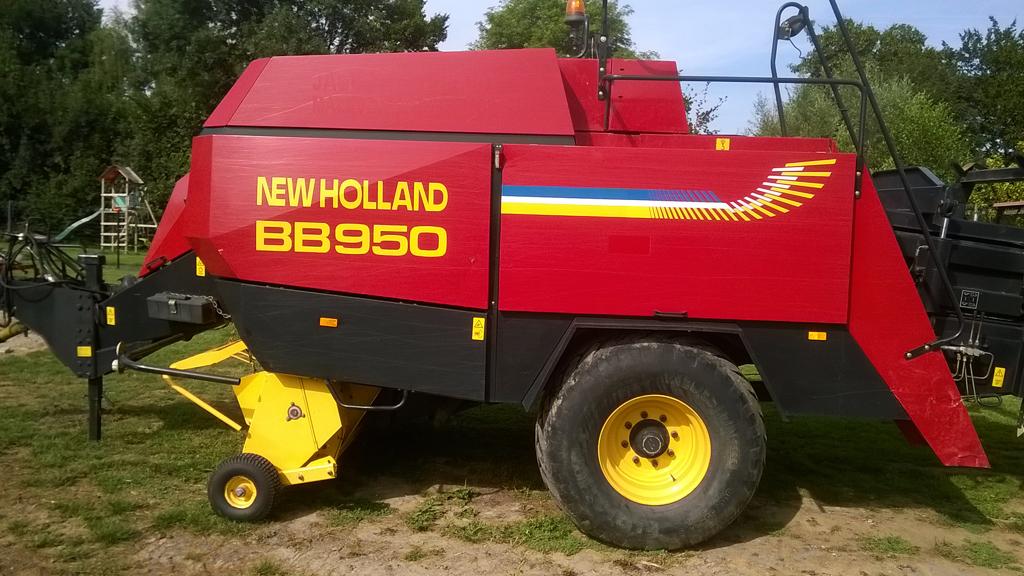 Presse HD New Holland BB950